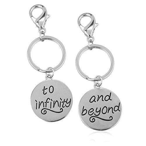 lux-accessories-set-di-2-portachiavi-per-migliori-amici-con-scritta-in-inglese-to-infinity-beyond