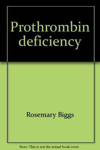 Prothrombin deficiency