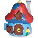 Los Pitufos - La casa Seta con 1 figura, color azul (Giochi Preziosi 33250)