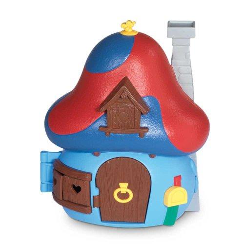 Giochi Preziosi Los Pitufos - La casa Seta con 1 figura, color azul 33250