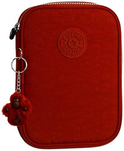 Kipling - 100 PENS - Large trousse - Red - (Rouge)
