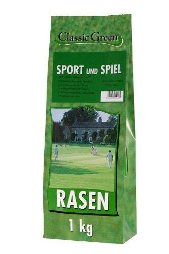 Classic Green Sport-&Spielrasen Papierbeutel 1kg