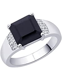 Peora Sterling Silver Cubic Zirconia Ring
