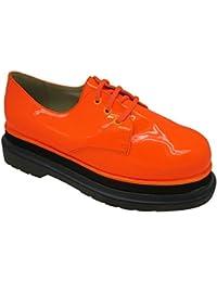 es Buffalo y Zapatos Amazon complementos Naranja UAfxgdgwq