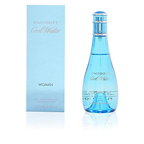 Davidoff Cool Water femme/woman Eau de Toilette, 100 ml