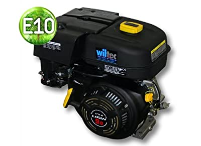 LIFAN 177 Benzinmotor 6,6kW (9PS) 25mm 270ccm mit Handstarter Kartmotor