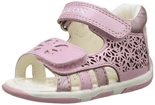 Geox Baby Mädchen B Sandal Tapuz Girl C, Pink (LT PINKC8010), 24 EU