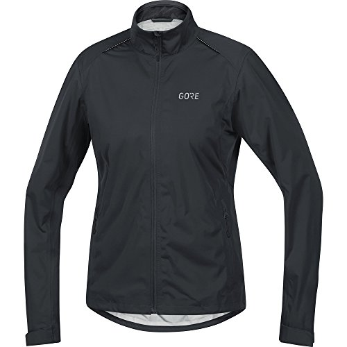 GORE Wear Chaqueta impermeable de ciclismo para mujer, C3 Women GORE-TEX Active Jacket, 42, Negro, 100041