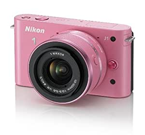 Nikon 10.1MP Mirrorless Camera (Pink) with 10-30mm and 30-110mm D-Zoom Kit, 4GB Card and Camera Pouch