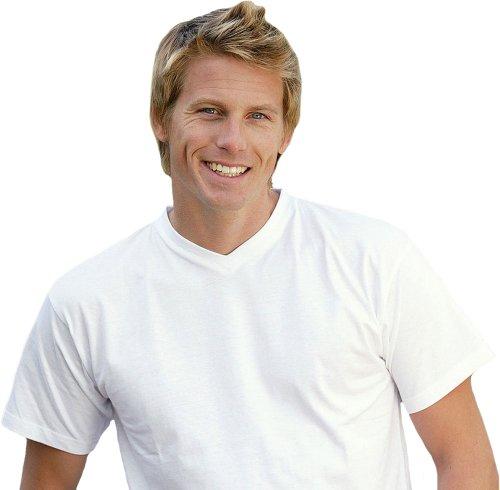 B&C V-Neck T-Shirt Exact 150 Weiß
