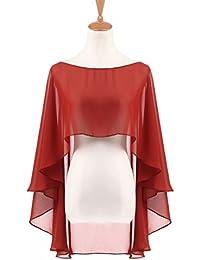 Amazon.it  coprispalle donna elegante - Sciarpe e stole   Accessori   Abbigliamento 8309b5d96ce