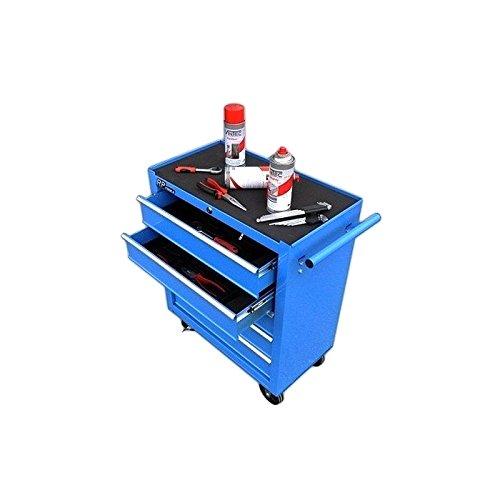 Preisvergleich Produktbild Werkstattwagen Werkzeugwagen rollbar 5 Schubladen von RP-TOOLS