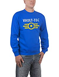 Touchlines Herren Pullover Vault Tec