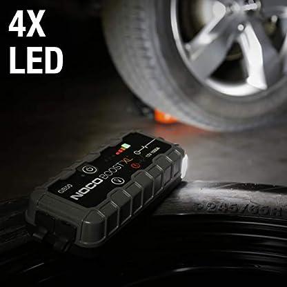 NOCO Boost XL GB50 1500 Amperios 12V UltraSafe Litio Arrancador de Batería de Coche para hasta 7L de Gasolina y 4.5L Diesel Motores