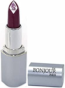 Bonjour Paris Premium Shine Lipstick - Burgundy Shine, 0.15 Ounce