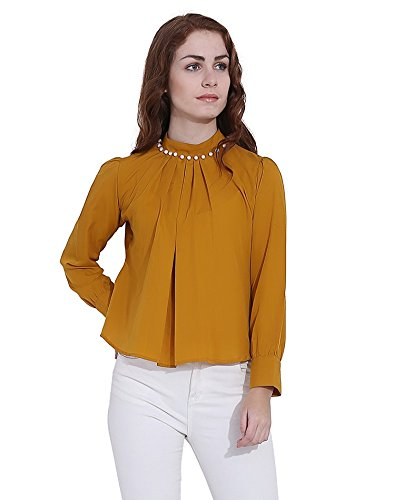 Faishionpro Women's Crepe Top...