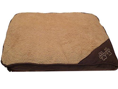Cama para perros y gatos, antideslizante,lavable, desenfundable e impermeable