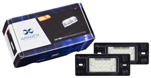 Preisvergleich Produktbild Premium LED Kennzeichenbeleuchtung VW Passat 3BG Variant (BJ 2001-2005) 603