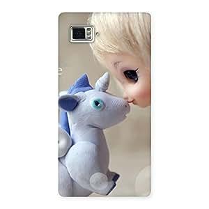 Cute Lovely Cute Baby Girl Multicolor Back Case Cover for Vibe Z2 Pro K920