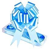 WXJ1330Pezzi Azzurro 12,7cm Larghezza Fiocco Pull String Fiocchi per pacchi Regalo, Decorazione di Natale/Nozze/San Valentino