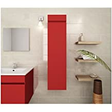 Amazon.fr : meuble colonne bois - Rouge