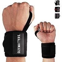 Crossfit Rip Toned Professionelles Handgelenkbandage 45,7 cm mit Daumenring Unisex f/ür Gewichtheben Eebook inklusive Krafttraining und Krafttraining