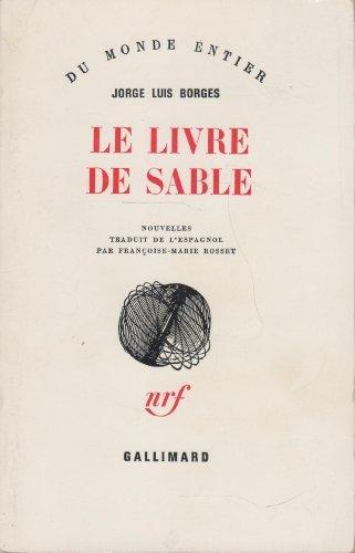 Le livre de sable par BORGES (Jorge Luis).