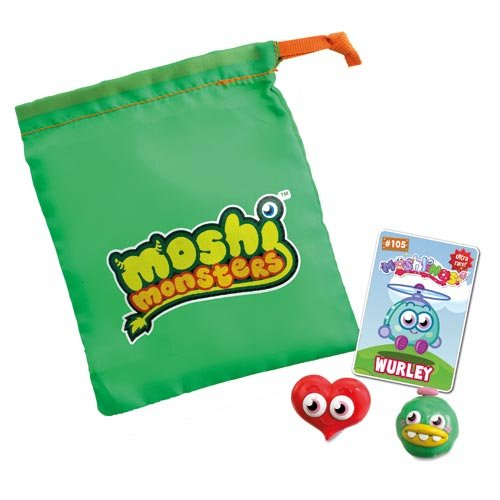 Image of Moshi Monsters Moshling Collector's Bag Contains 2 Moshlings - Various Colours