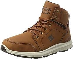 DC Shoes Torstein, Bottes et Bottines Classiques Homme, Marron (Brown/Dk Chocolate), 43 EU