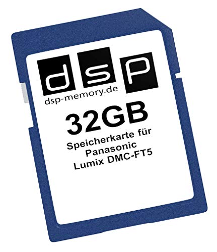 DSP Memory Z-4051557389472 32GB Speicherkarte für Panasonic Lumix DMC-FT5EG-D - 4