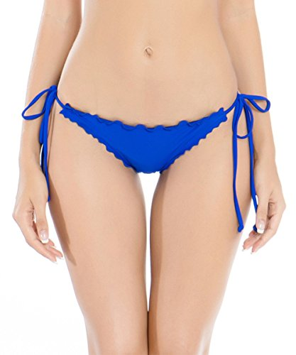 RELLECIGA Donna Brasiliano Slip Swimwear Bottom Blu M