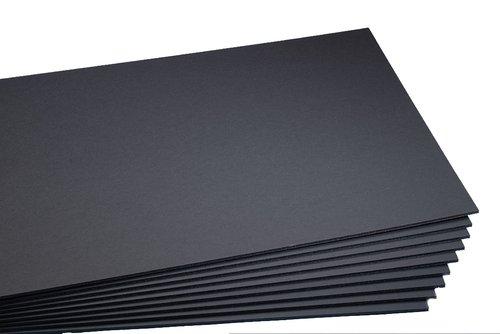 Cartón pluma Precision negro 5 mm 70x100 cm (1 unidad)