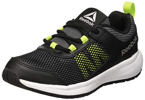 Reebok Road Supreme, Scarpe da Trail Running Uomo, Multicolore (Black/Alloy/Neon Lime/White/Pewter 000), 39 EU