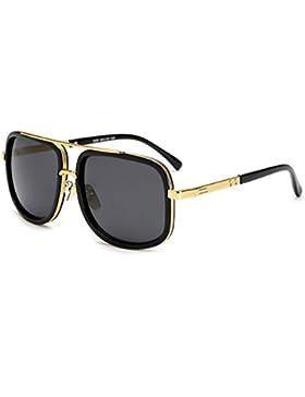 SHEEN KELLY Vintage Baratas para Mujer y Hombre Marco de metal gafas de sol