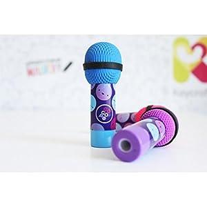 GOGOPO GP015 - Goma de borrar y sacapuntas para micrófono