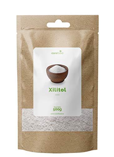 XIlitol de Abedul Ecológico 500gr Carefood | Alternativa al azúcar 100% Natural...