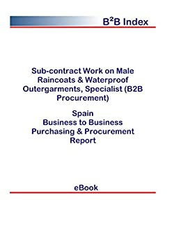 Sub-contract Work on Male Raincoats & Waterproof Outergarments ...