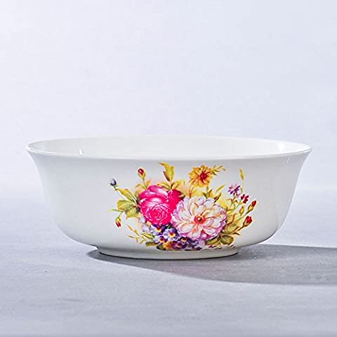 Yifom Bone China ciotola 6 pollici zuppa