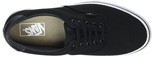 Vans Unisex-Erwachsene Era 59 Low-Top Schwarz (C&P black/true white)