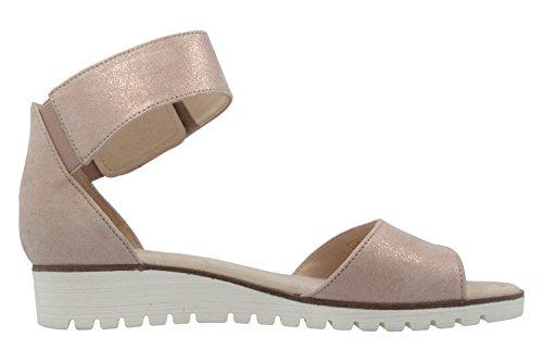 GABOR - Damen Sandalen - Rosa Schuhe in Übergrößen Rosa