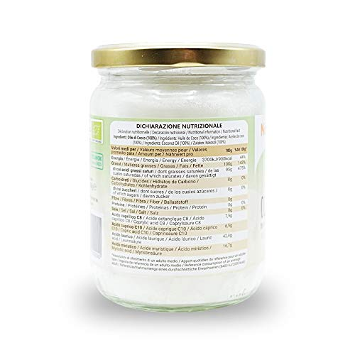 Zoom IMG-3 olio di cocco biologico extra