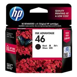 HP 46 Ink Cartridge - Black