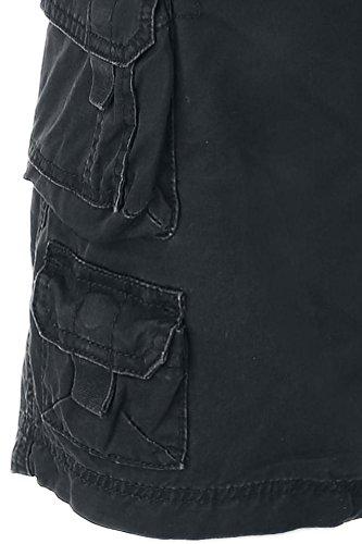 R.E.D. by EMP Cargo Shorts Pantaloncini Vintage nero Nero