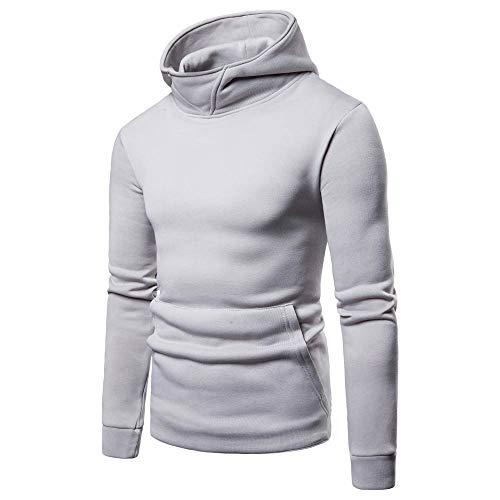 UFACE Herren Strickjacke Cardigan Beiläufige DünneStrickpullover mit Kapuze Kapuzenpullover Pullover Männer Hoodie Winter warme Fleece Zipper Sweater Jacke Outwear Mantel