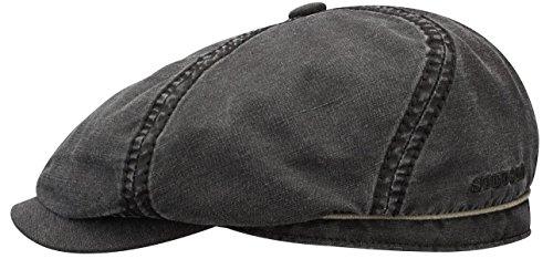 stetson-brooklin-vintage-ballonmutze-schirmmutze-aus-baumwolle-und-leinen-schwarz-l-58-59