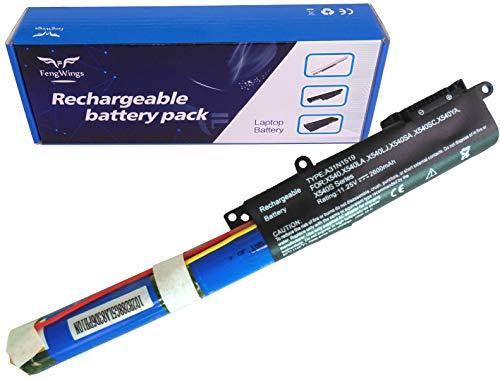FengWings 10.8V 36Wh A31N1519 batería del portátil Compatible con ASUS X540 / X540LA / X540LJ / X540SA / X540SC / X540YA / X540S