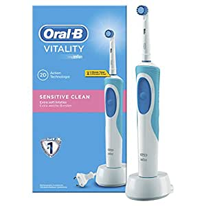 Oral-B Vitality Sensitive Clean Braun Spazzolino Elettrico Ricaricabile