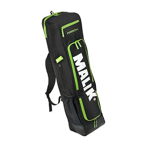 MALIK Arrow Stick Bag (schwarz) - Hockeyschlägertasche Hockey Tasche