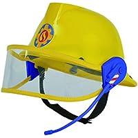 Simba 109258698 - Feuerwehrmann Sam Helm in gelb 23 cm