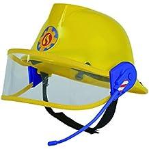 Simba 109258698–bombero Sam Casco en amarillo 23cm